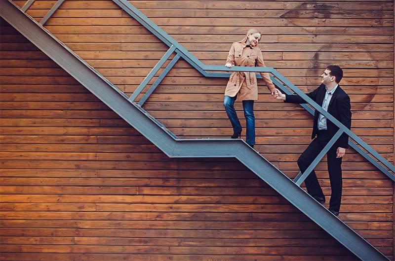 מדרגות חיצוניים