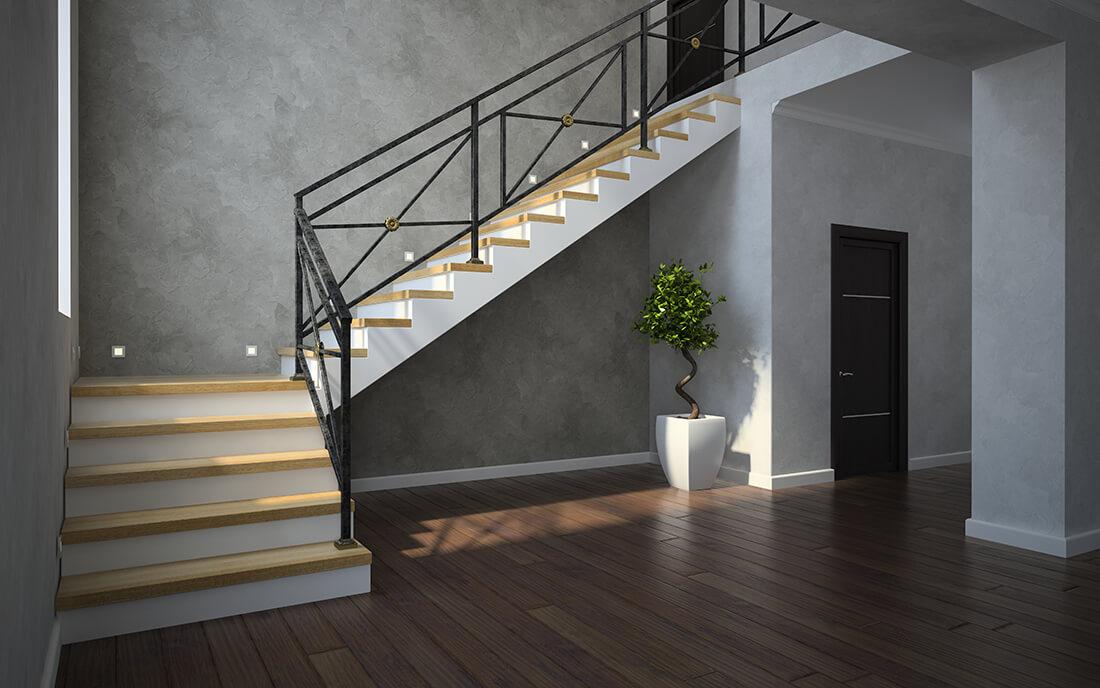 מעקות לחדרי מדרגות
