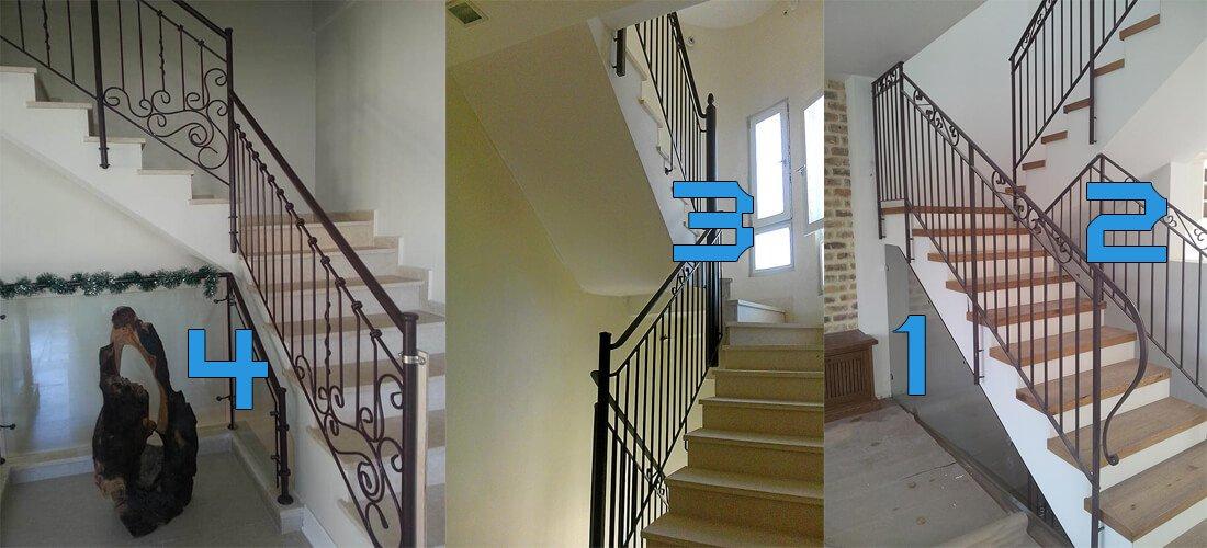 מעקות ברזל טיפים על בניית מדרגות