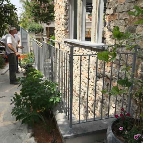 מעקות חוץ לבית כפרי תל אביב 2018