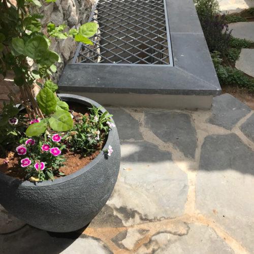 חצר אנגלי לבית כפרי תל אביב 2018