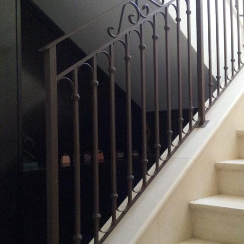 פרויקט של עבר משנת 2012 שערים חשמליים,מעקות למדרגות ומרפסות או סורגים הרצליה עוזיהו המלך 27