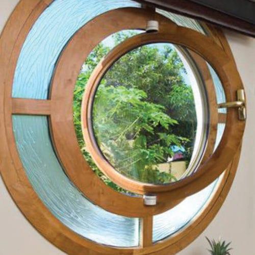 חלונון עץ מיוחדים טורנהדו