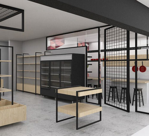 רהיטים למיסדה או בית קפה מברזל
