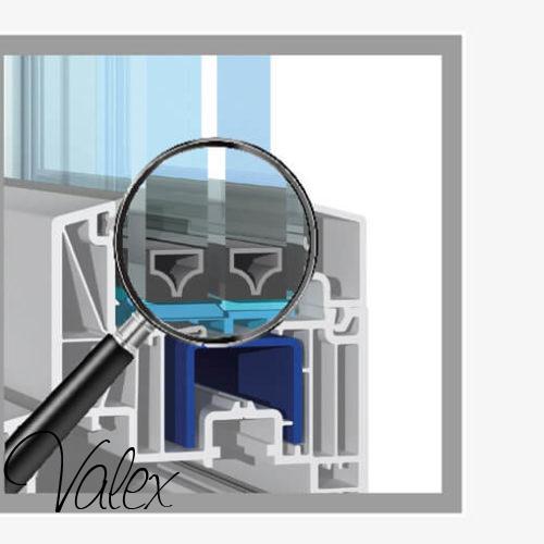 мультифункциональный стекло пакетокна металопластиковые саламандер 73