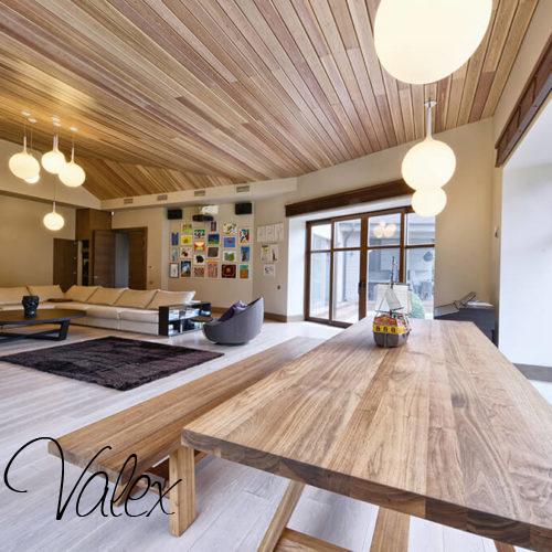 חלונות עץ מלא אלומיניום לביתים יוקרתיים