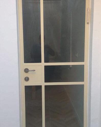 דלת בלגית ברזל 20