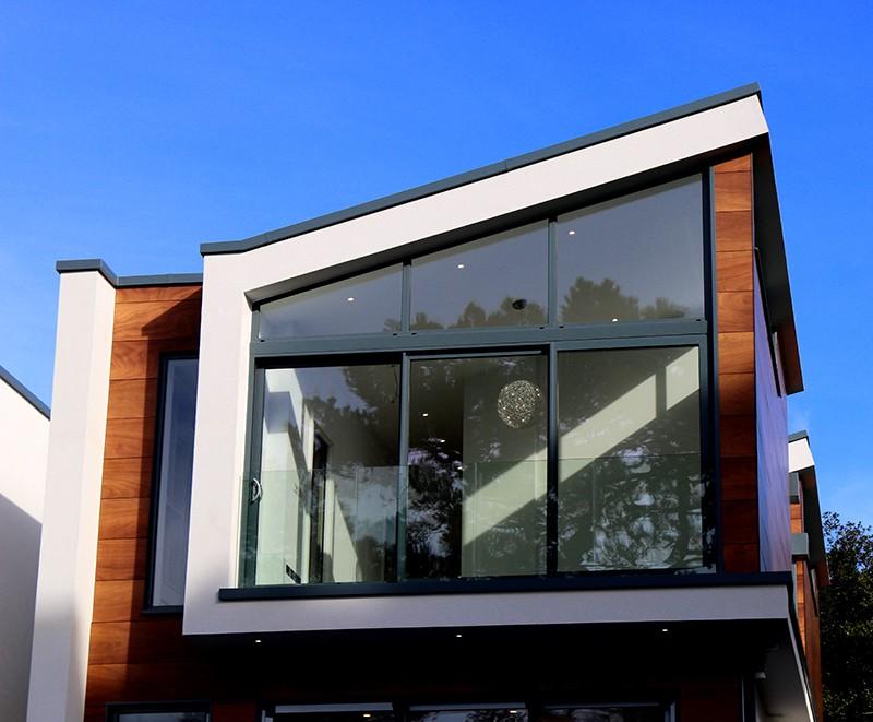 חלונות עץ אלומיניום מודרני