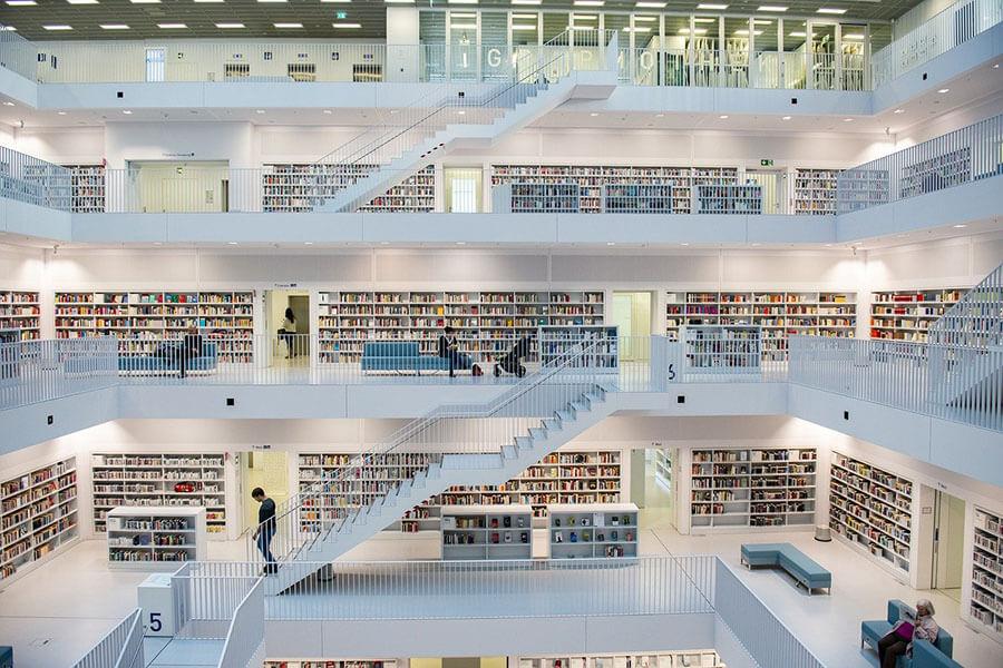 ספריות לסלון מעוצבות