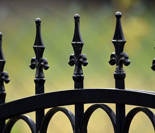 גדרות לחצר מברזל